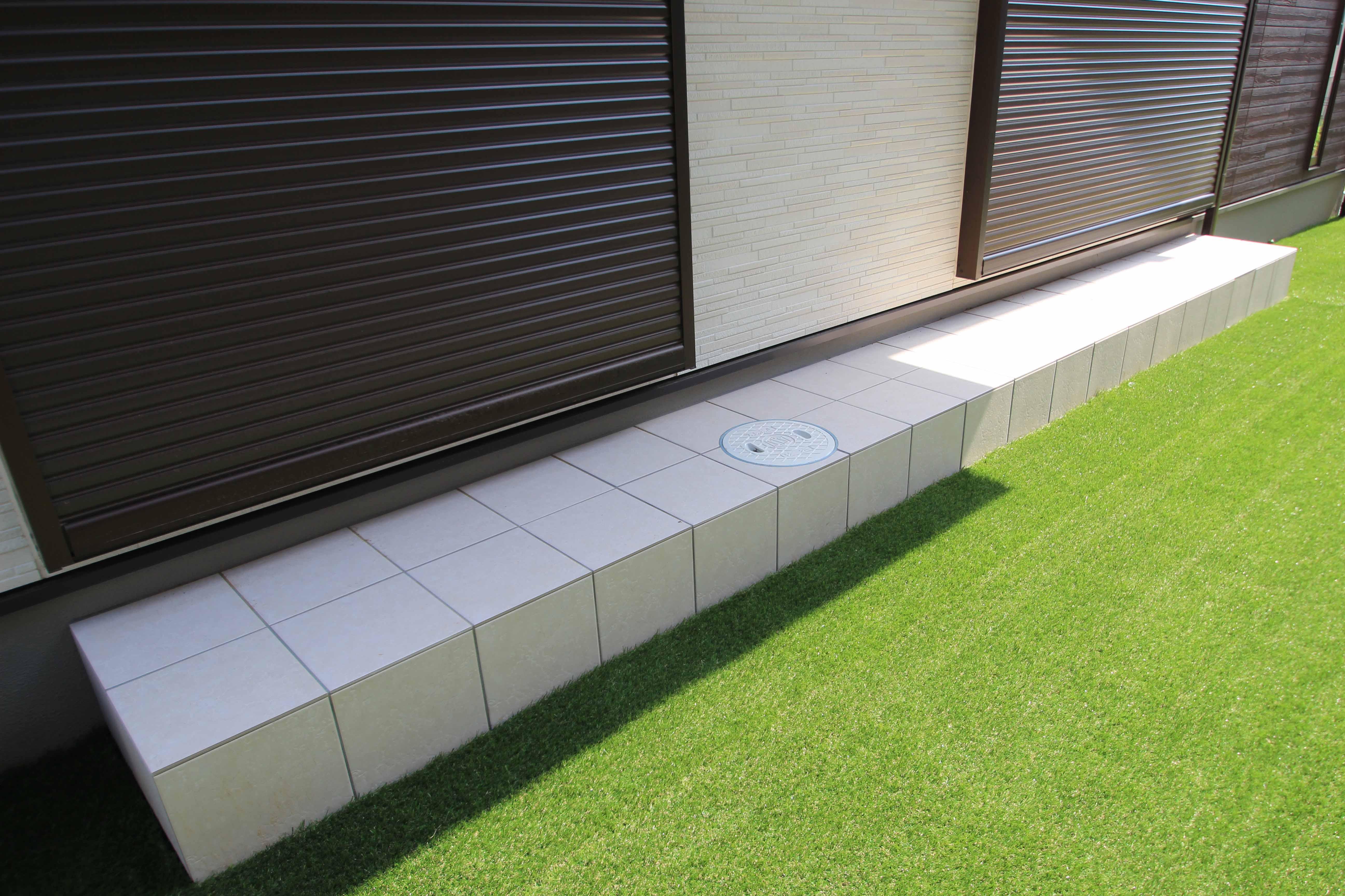 千葉市緑区。アンティークテイストのアプローチ。15