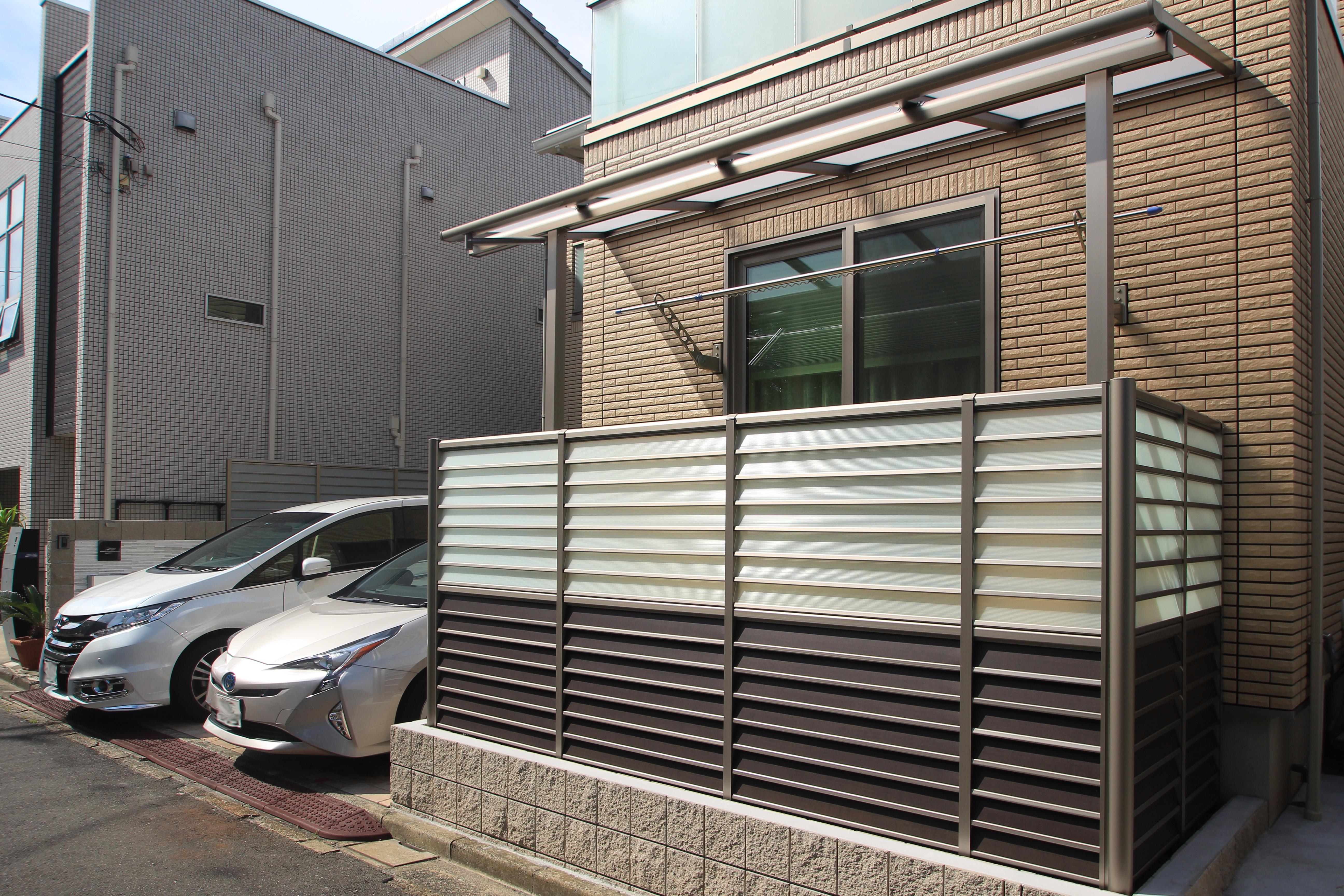 千葉県浦安市にて。ライトアップが素敵。リゾートなモダンエクステリア。14