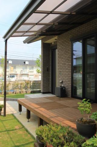 千葉市緑区にて。すてきなカフェみたい。緑いっぱいのナチュラルガーデン。8