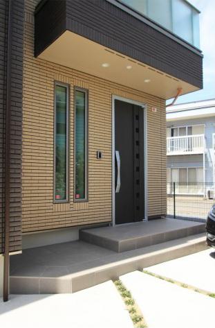千葉市にて。ウッドデッキとタイルテラスのプライベートガーデンです。13