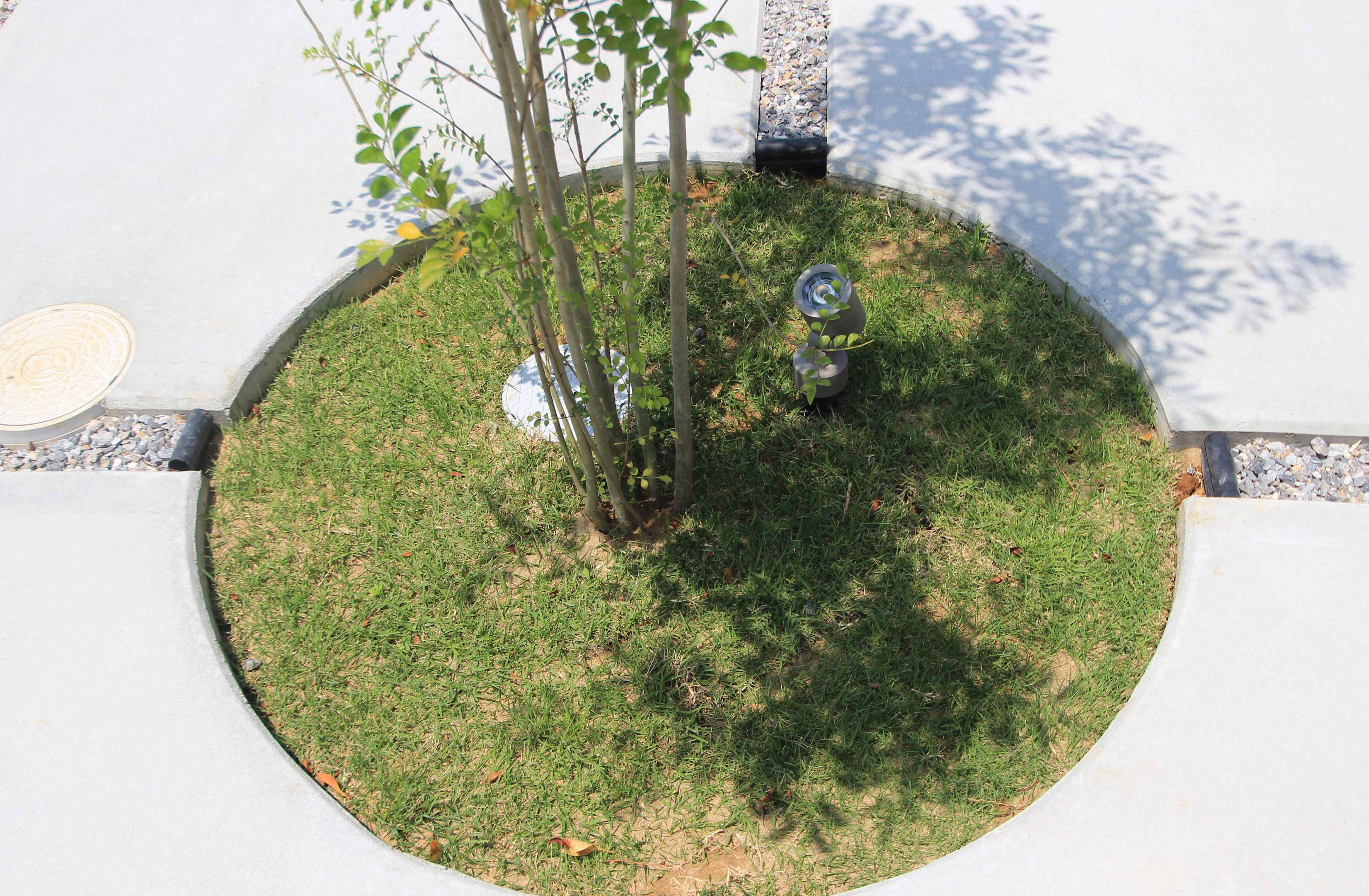千葉市花見川区。新緑がはなやぐ贅沢な空間。きれいめエクステリアの完成です。11