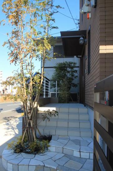 袖ヶ浦市にて。既存駐車場を素敵にエクステリアリフォーム。7