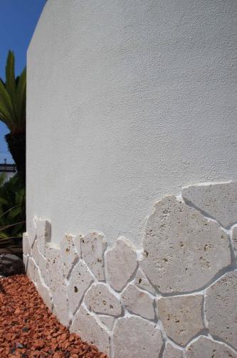 印西市。琉球石灰岩のリゾートスタイル。15