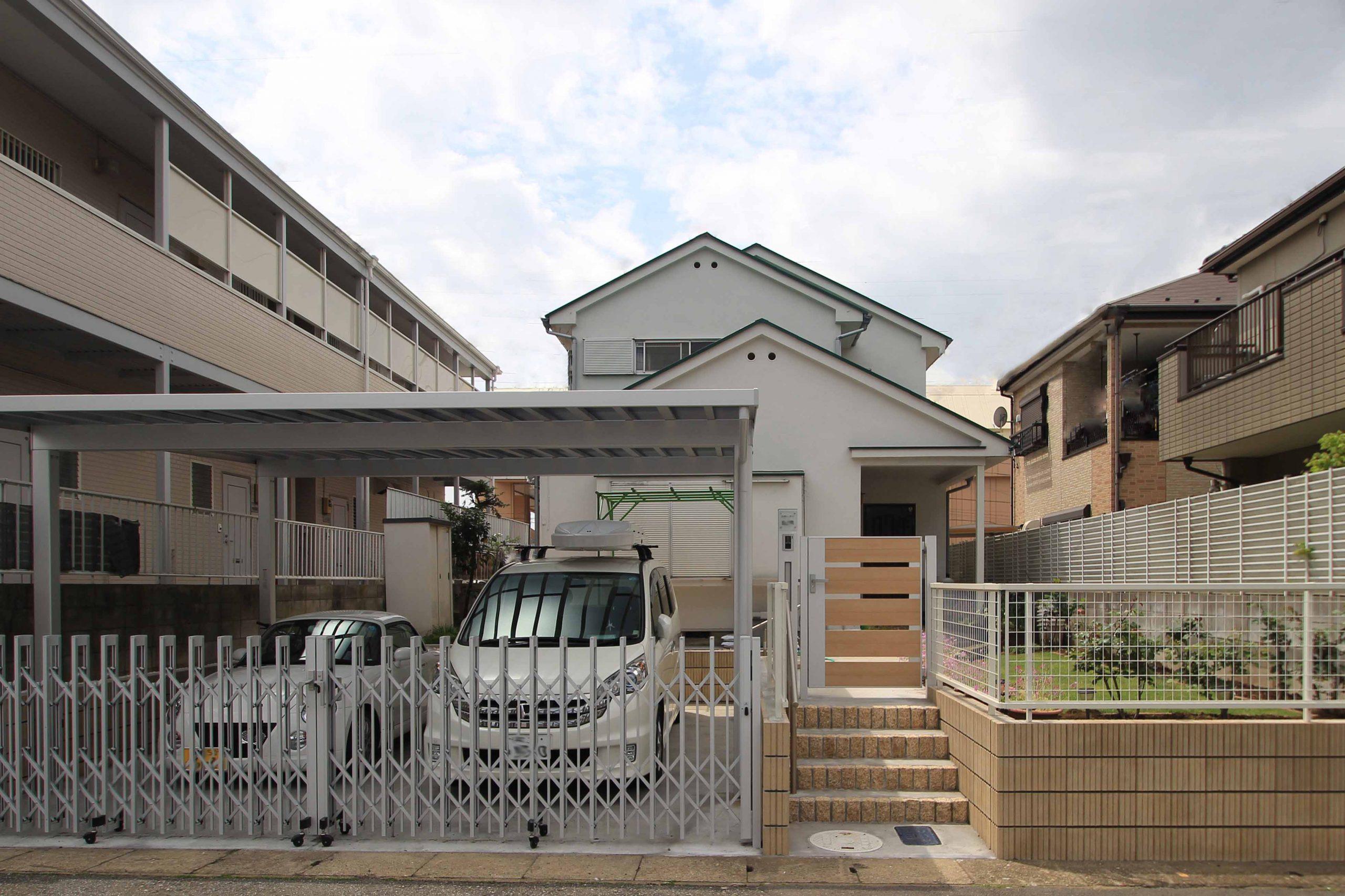 外構リフォームで駐車場増設<br>千葉市T様邸6