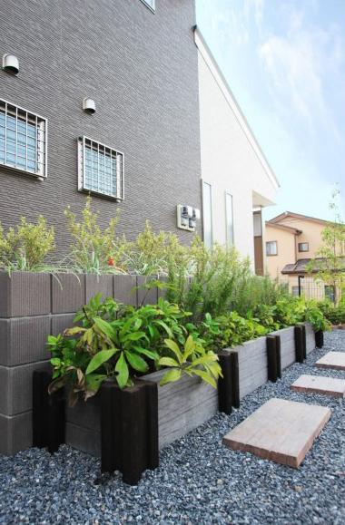 ガゼボのあるお庭<br>千葉市K様邸10