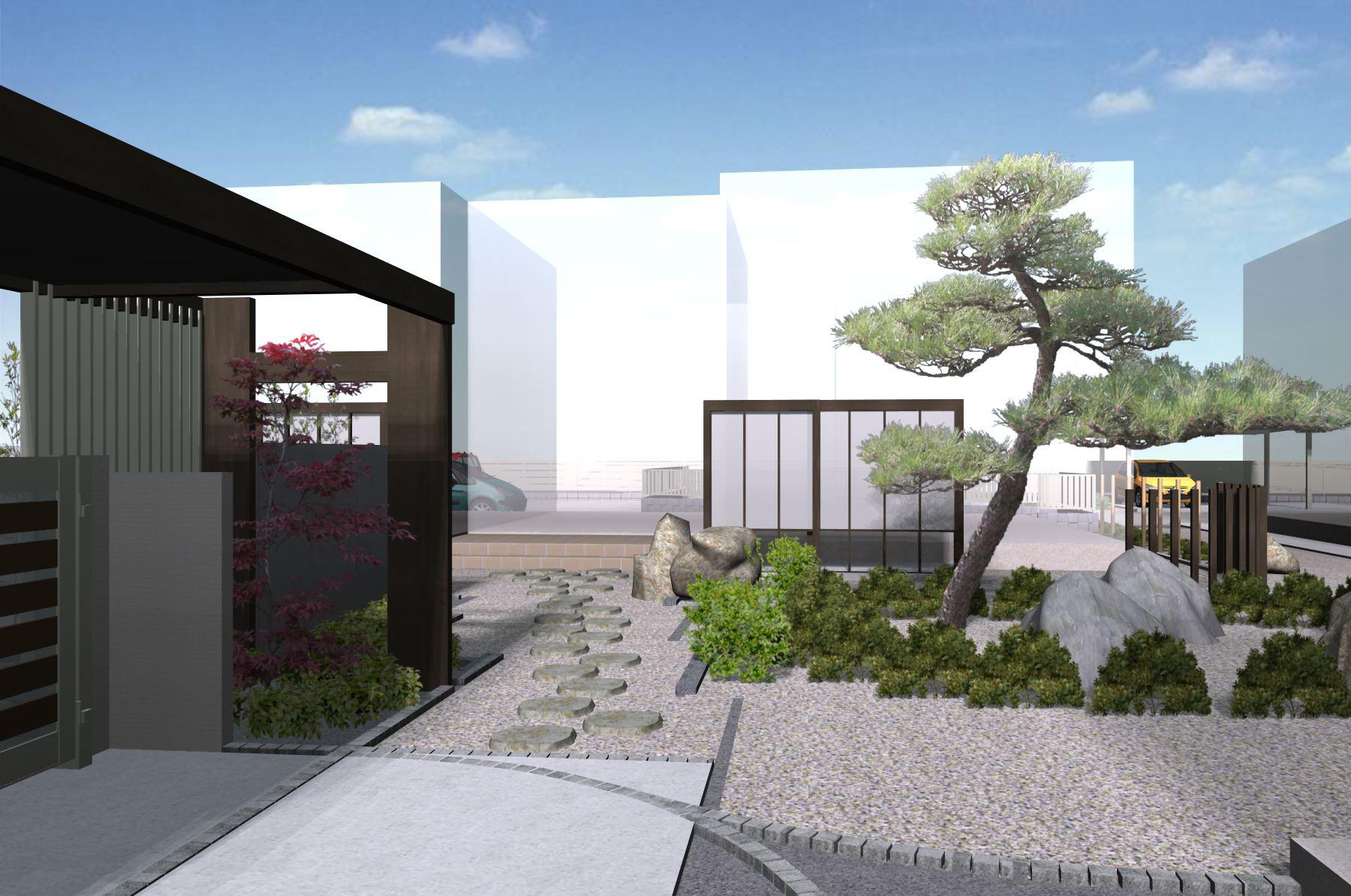 リクシル エクステリアコンテスト2012<br>受賞作品 川崎市I様邸9