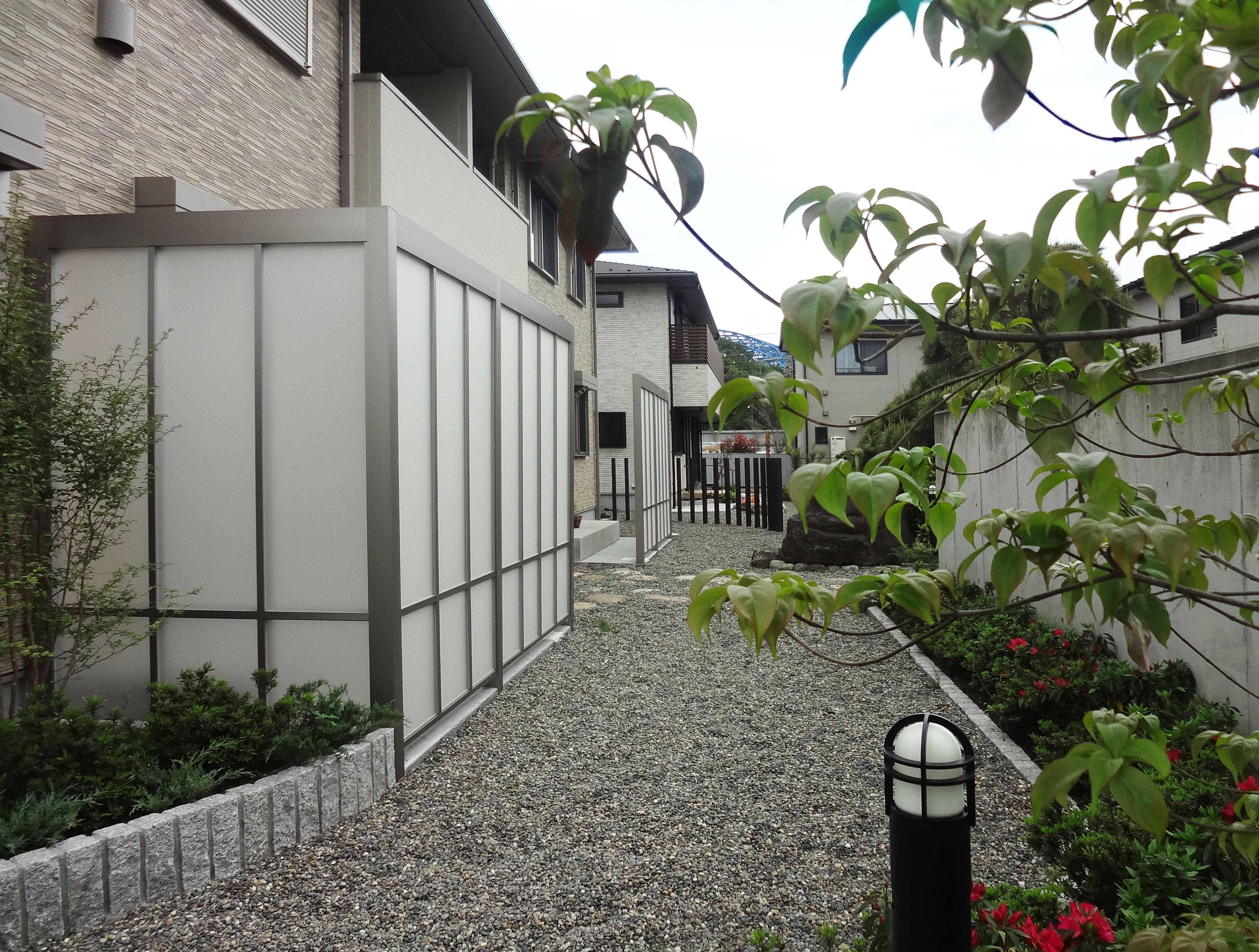 リクシル エクステリアコンテスト2012<br>受賞作品 川崎市I様邸12