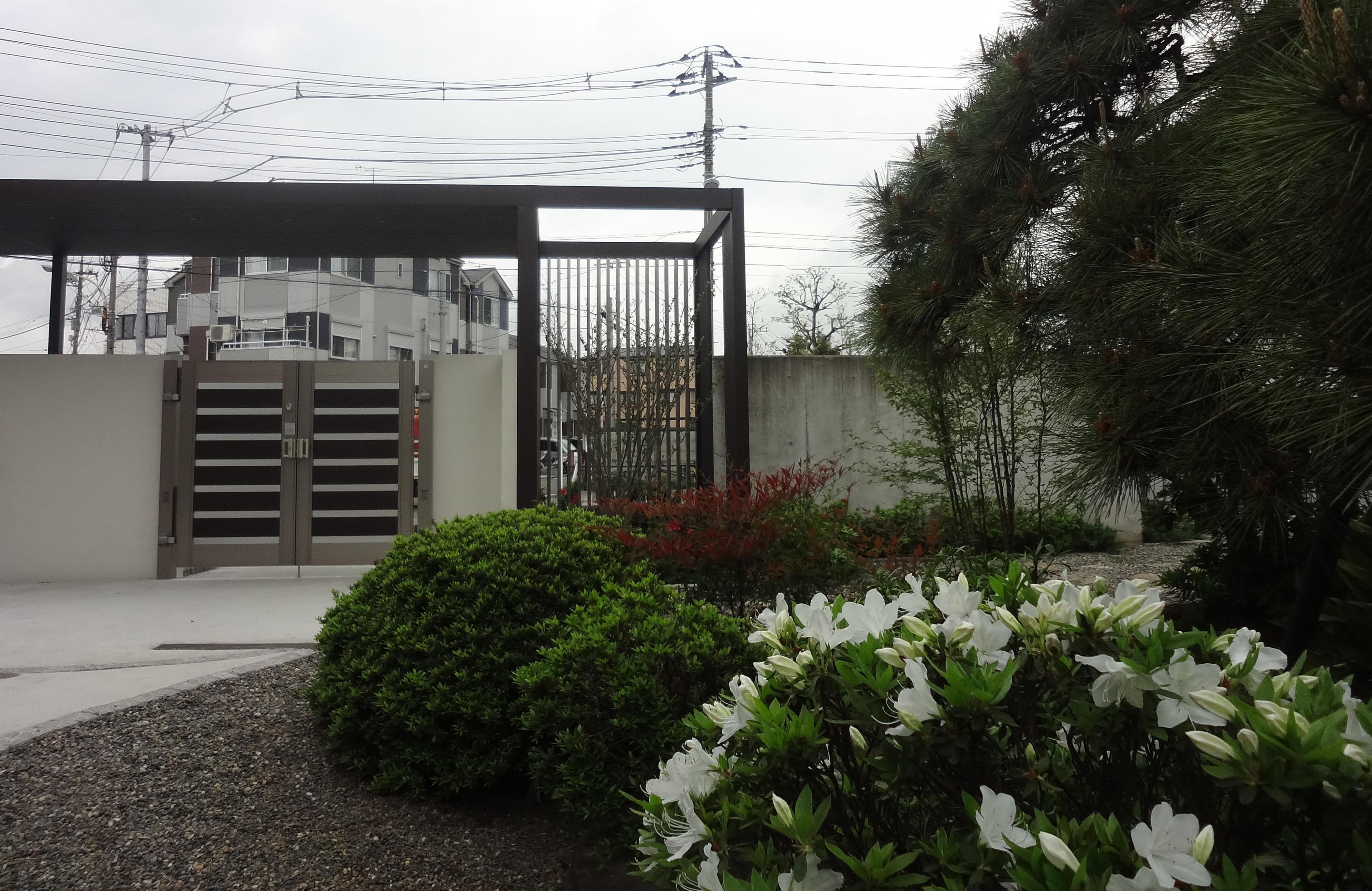 リクシル エクステリアコンテスト2012<br>受賞作品 川崎市I様邸19
