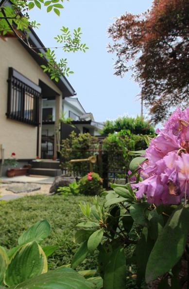 和風ガーデン。<br>千葉市F様邸9