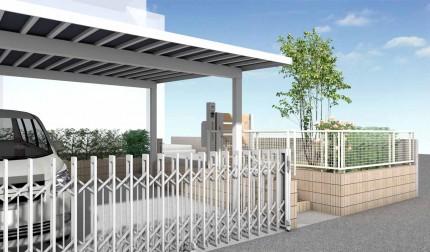 外構リフォームで駐車場増設<br>千葉市T様邸4