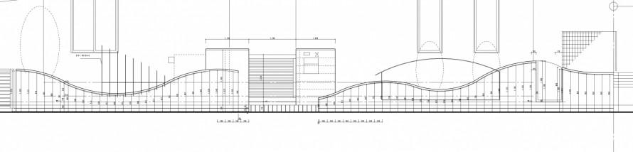 曲線の壁<br>江戸川区K様邸4