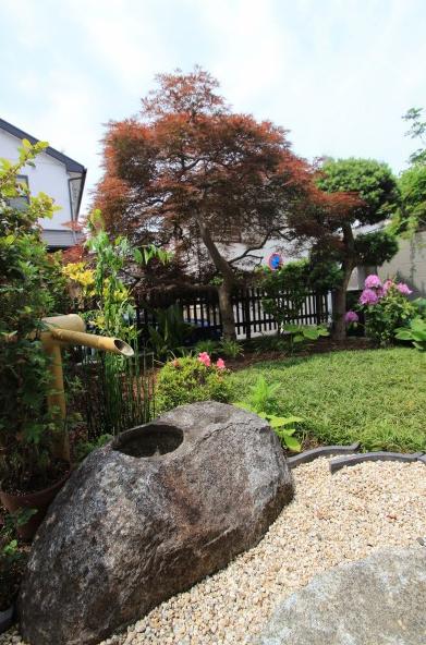 和風ガーデン。<br>千葉市F様邸7