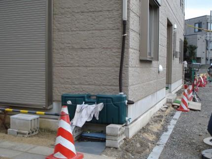 曲線の壁<br>江戸川区K様邸7