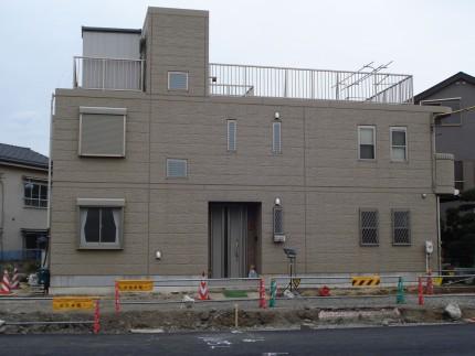 曲線の壁<br>江戸川区K様邸6