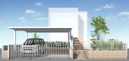 外構リフォームで駐車場増設<br>千葉市T様邸3