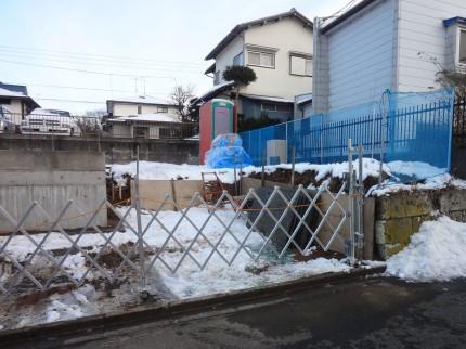 高台で高低差のあるエクステリアプラン<br>成田市6
