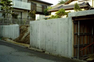 鉄筋コンクリートの地下車庫<br>柏市T様邸6