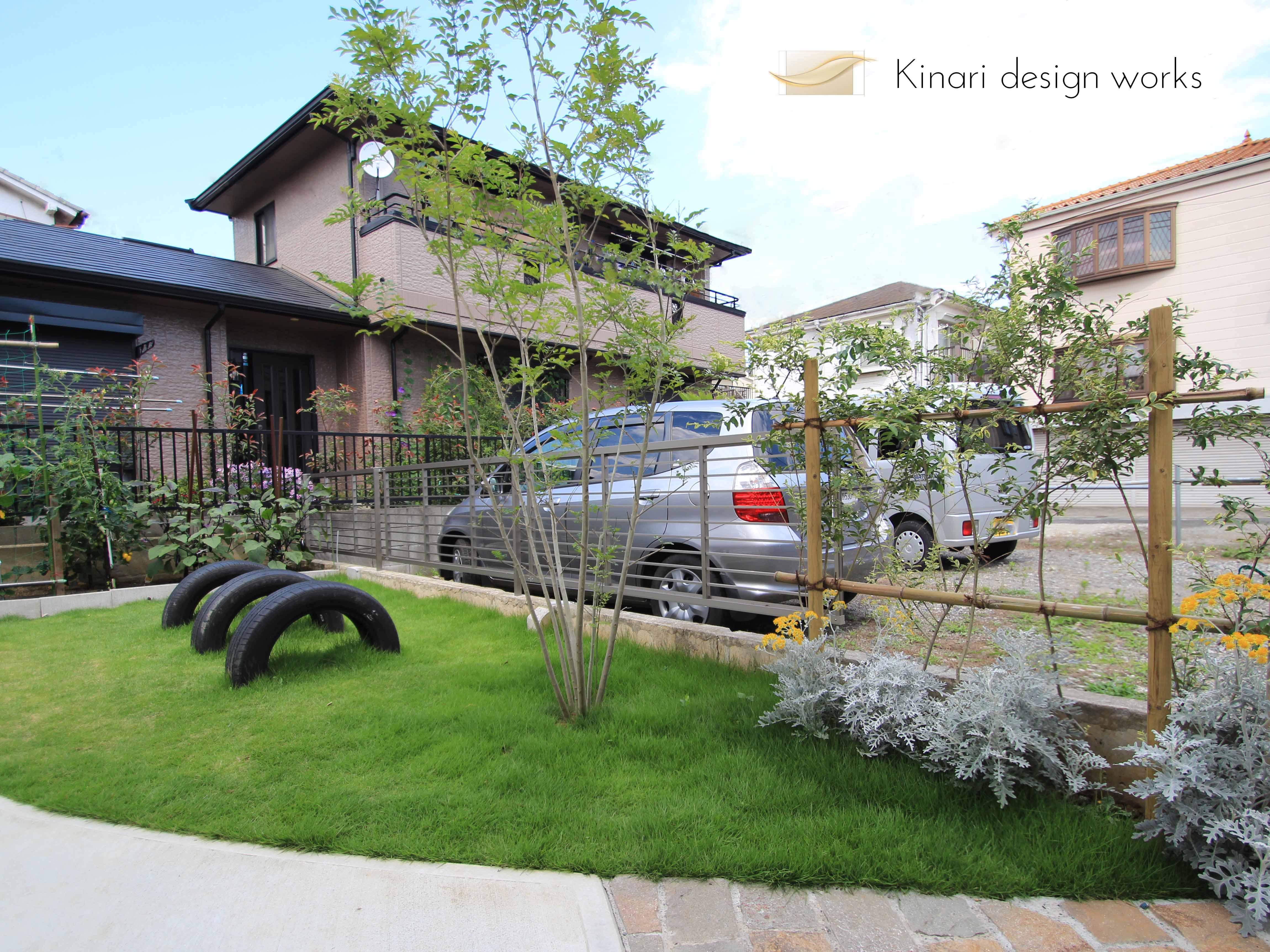 楽しいお庭のガーデンライフ<br>浦安市F様邸1