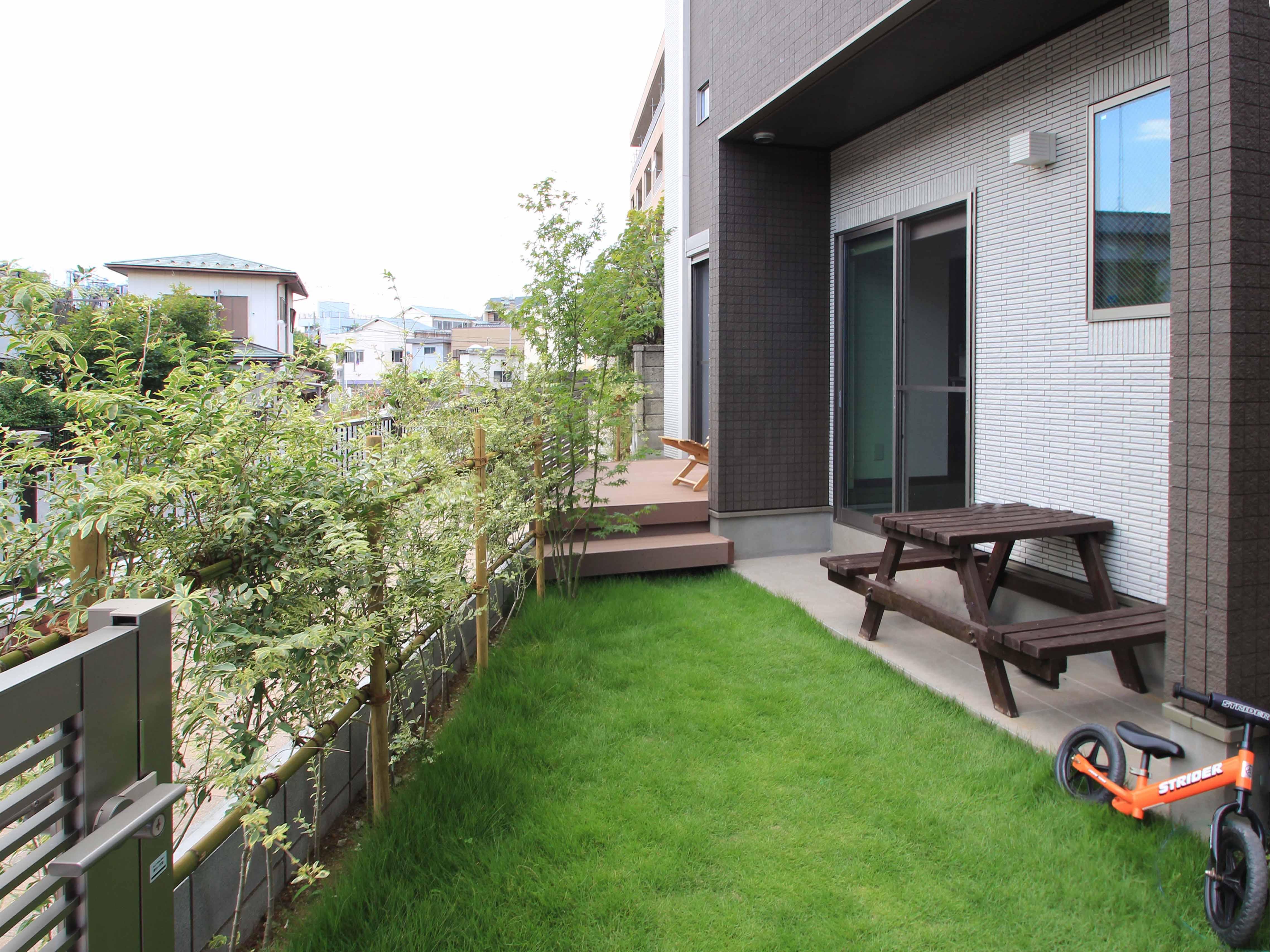 楽しいお庭のガーデンライフ<br>浦安市F様邸10