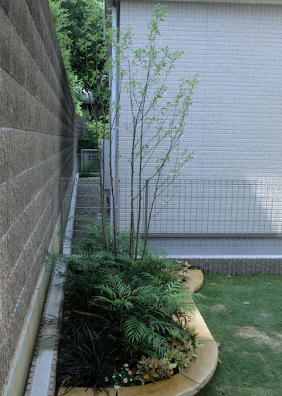 花壇の外構リフォーム工事<br>船橋市T様邸5