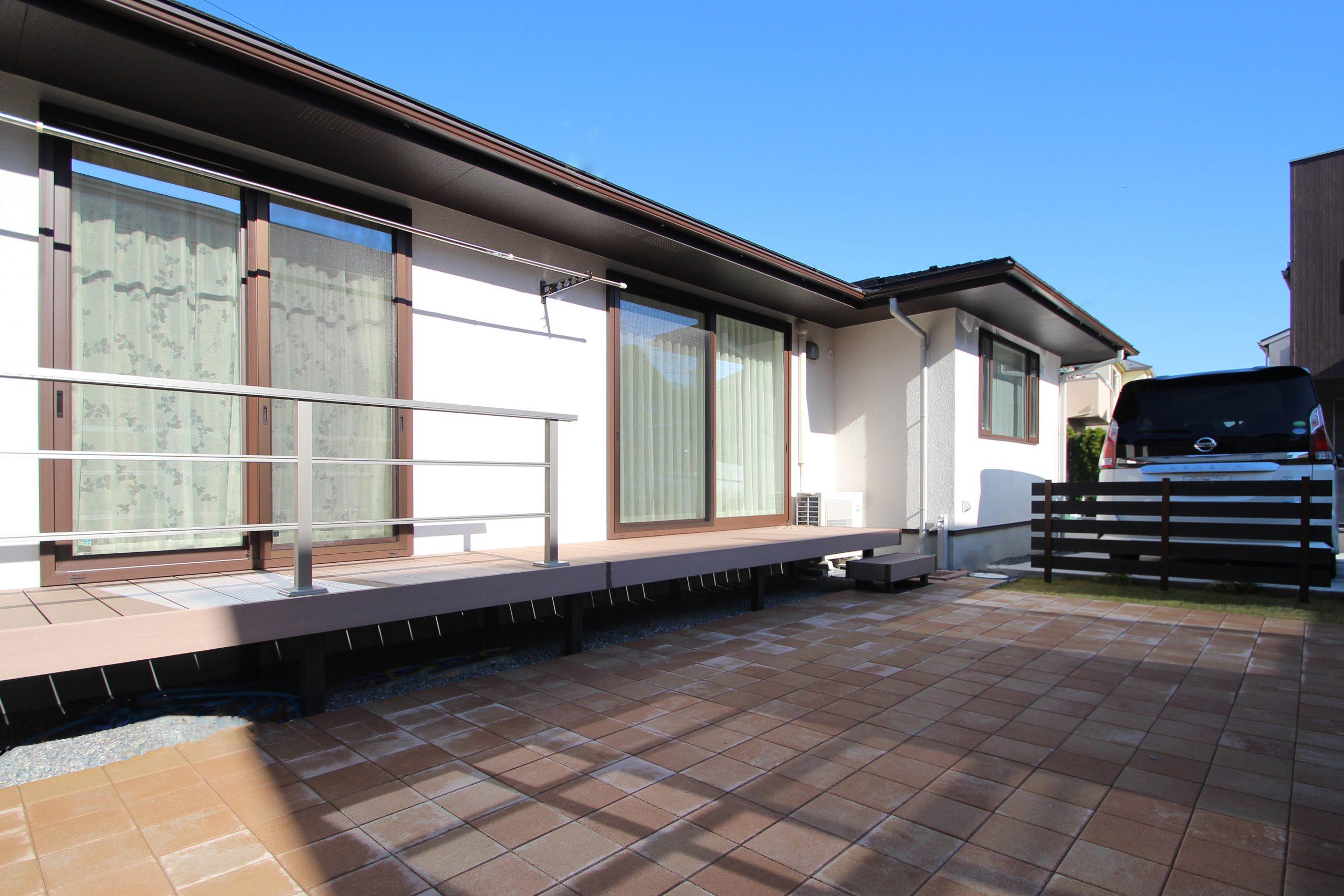 千葉市。<br>上質な石貼りのオープンスタイル。16